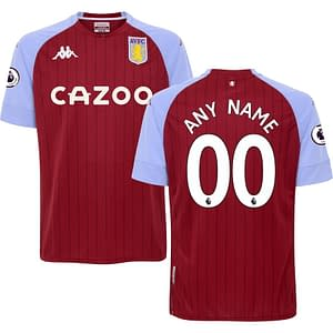 Aston Villa FC Jersey for Men, Women, or Youth | Customizable color: 2019-2020 Home|2019-2020 Road|2019-2020 Third|2020-2021 Home|2020-2021 Road|2020-2021 Third  Refuse You Lose