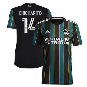 Chicharito LA Galaxy Jersey for Men, Women, or Youth color: 2020 Home|2020 Road|2021 Road  Refuse You Lose