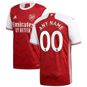 Customizable Arsenal Soccer Jersey for Men, Women, or Youth color: 2019-2020 Home|2019-2020 Road|2019-2020 Third|2020-2021 Home|2020-2021 Road  Refuse You Lose