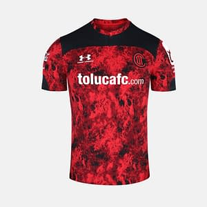Deportivo Toluca FC Jersey for Men, Women, or Youth   Customizable color: 2019-2020 Home 2019-2020 Road 2019-2020 Third 2020-2021 Home 2020-2021 Road 2020-2021 Third  Refuse You Lose