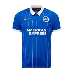 Brighton Soccer Jersey for Men, Women, or Youth   Customizable color: 2018-2019 Home 2019-2020 Home 2019-2020 Road 2020-2021 Home 2020-2021 Road  Refuse You Lose