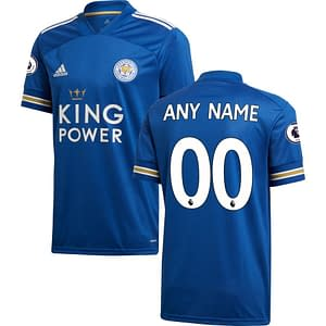 Leicester City FC Jersey for Men, Women, or Youth   Customizable color: 2019-2020 Home 2019-2020 Road 2019-2020 Third 2020-2021 Home 2020-2021 Road 2020-2021 Third  Refuse You Lose