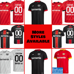 Bayern Munich Soccer Jersey for Men, Women, or Youth | Custom color: 2020-2021 Home|2020-2021 Road|2020-2021 Third  Refuse You Lose