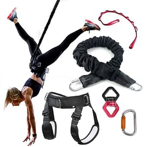 Bungee Dance Resistance Bands at gym yoga fitness workout rope 120LBS 160LBS 200LBS 220LBS color: 120LBS|160LBS|200LBS|220LBS  Refuse You Lose