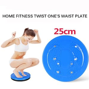 Yoga Sport Fitness Balance Board Wobble Waist Twisting Fitness Body Exercise Rotating Sports Magnetic Massage Plate Twist Boards brand: Refuse You Lose  Refuse You Lose
