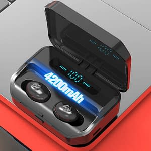 4200mAh TWS Bluetooth 5.0 Eaphones With Charging Case Wireless Earphone IPX7 Waterproof Earbuds Sport 9D Stereo Touch Control color: 2600mAh AS SHOWN|4200mAh AS SHOWN|4200mAh AS SHOWN  Refuse You Lose