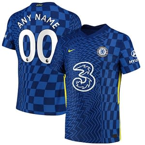Customizable Chelsea Soccer Jersey For Men, Women, or Youth color: 2018-2019 Home|2018-2019 Road|2018-2019 Third|2019-2020 Home|2019-2020 Road|2019-2020 Third|2020-2021 Home|2020-2021 Road|2021-2022 Home  Refuse You Lose