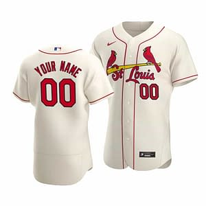 St Louis Cardinals Jersey For Men, Women, or Youth | Customizable color: 2019 Alternate Cream|2019 Alternate Red|2019 Nickname|2020 Home|2020 Road|2020 Alternate Cream|2020 Alternate Light Blue|2020 Alternate Red|2018 Nickname|Black|2019 Home|2019 Road|Memorial Day  Refuse You Lose