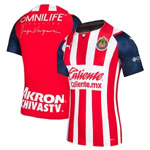 Chivas Soccer Jersey For Men, Women, or Youth | Customizable color: 2021-2022 Home|2020-2021 Home|2020-2021 Road|2019-2020 Road|2019-2020 Third|2018-2019 Home|2018-2019 Road|2018-2019 Third  Refuse You Lose