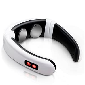 6 Modes Electric Neck Massager package: With Stickers Without Sticker  Refuse You Lose
