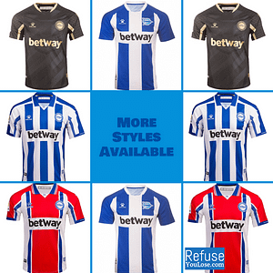 Deportivo Alavés Soccer Jersey for Men, Women, or Youth | Customizable color: 2020-2021 Home|2020-2021 Road|2020-2021 Third|2019-2020 Home|2019-2020 Road|2019-2020 Third  Refuse You Lose