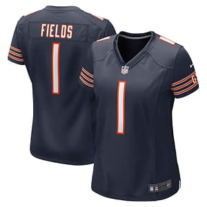 Justin Fields Bears Jersey for Men, Women, or Youth color: Alternate Orange Home Road  Refuse You Lose