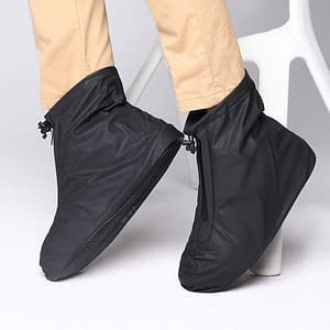 Non-Slip Reusable Waterproof Shoe Covers brand: Refuse You Lose  Refuse You Lose