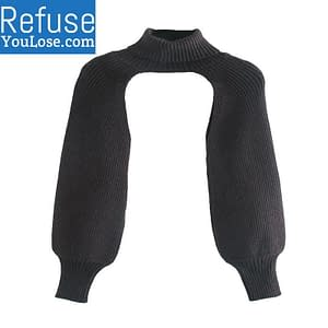 Chic Turtleneck Long Sleeves size: One Size  Refuse You Lose