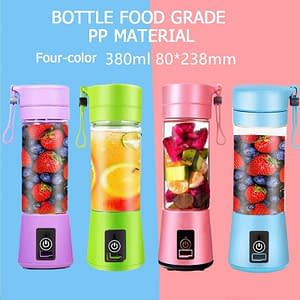 Portable Blender with USB Port color: Blue|Pink|Green|Purple  Refuse You Lose