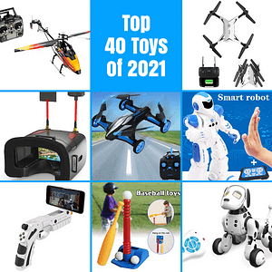 Top 40 Toys of 2021