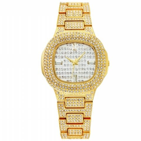 Designer Watch For Women Refuse You Lose color: GoldSmith Band
