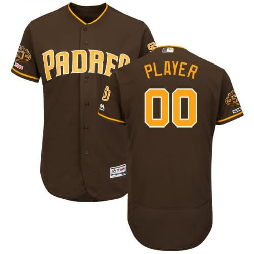 San Diego Padres MLB Baseball Jersey For Men, Women, or Youth (Any Name and Number) Jerseys For Men ⚾️🏀🏈⚽️🏒 Jerseys For Women ⚾️🏀🏈⚽️🏒 Jerseys For Kids ⚾️🏀🏈⚽️🏒 Baseball Jerseys 👕⚾️👚 color: 2018 Nickname 2019 Nickname Alternate Brown Alternate Navy Blue Camouflage Camouflage Home Memorial Day Road Memorial Day Home Road  Refuse You Lose https://refuseyoulose.com