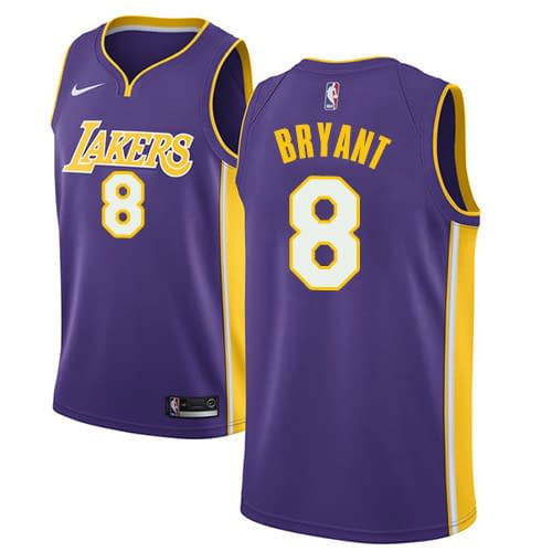 Kobe Bryant Los Angeles Lakers NBA Basketball Jersey for Men, Women, or Youth Refuse You Lose color: Purple 24 Purple 8 White 24 White 8 Yellow 24 Yellow 8