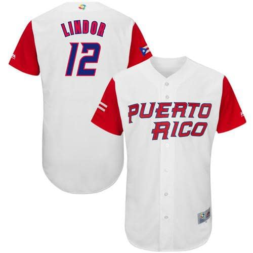 Francisco Lindor Baseball Jersey for Men, Women, or Youth color: Alternate Blue 1 Alternate Blue 2 Puerto Rico Home Road  Refuse You Lose