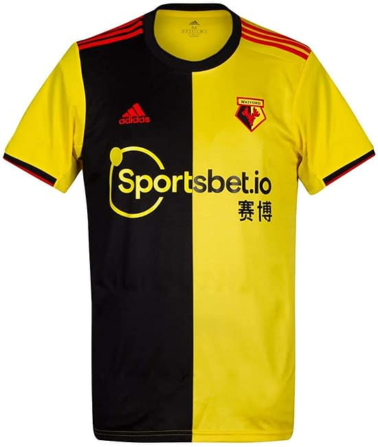 Watford FC 2019-2020 Home Soccer Jersey