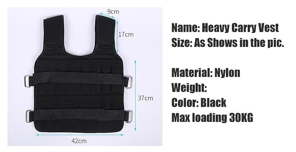 30KG Loading Weight Vest For Boxing Weight Training Workout Fitness Gym Equipment Adjustable Waistcoat Jacket Sand Clothing 2020 New Deals 🎉 Best Gifts of 2020 🎁 Best Gifts of 2020 For Men 💪 Gym & Fitness 🧘♀️🏋️♂️ Fitness Equipment 🏋️♂️ WEIGHT VEST : Applicable Fitness Equipment  Refuse You Lose https://refuseyoulose.com