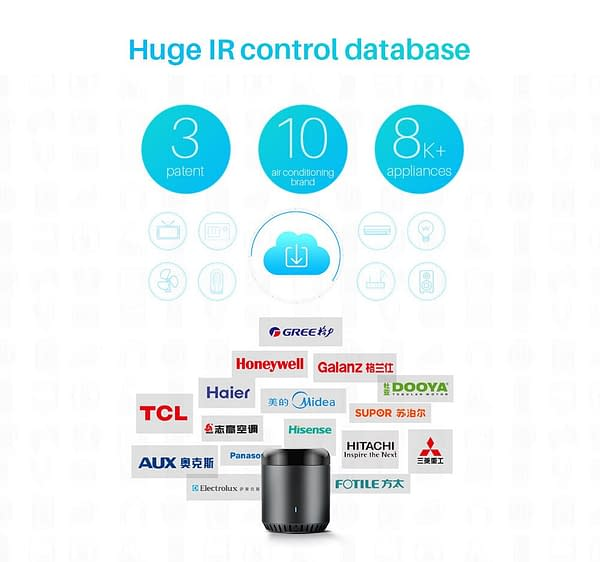 Universal WiFi Remote Controller Compatible with Amazon Alexa and Google Home bundle: RM Mini3 RM Mini3 And AU Plug RM Mini3 And EU Plug RM Mini3 And UK Plug RM Mini3 And US Plug  Refuse You Lose