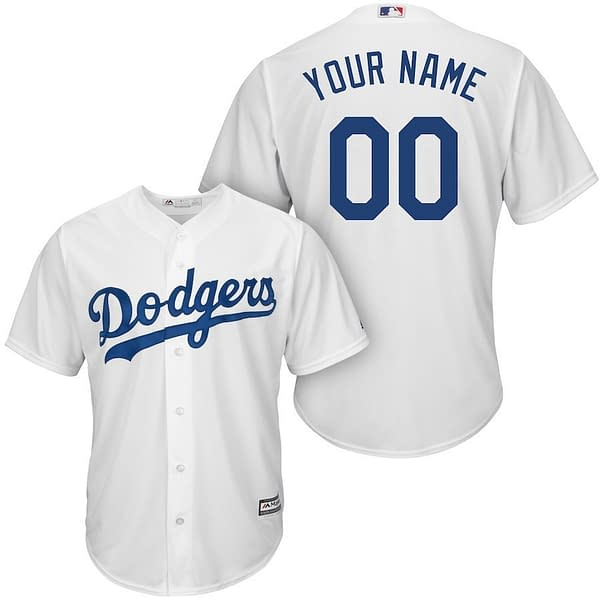 Los Angeles Dodgers MLB Baseball Jersey For Men, Women or Youth (Any Name and Number) Refuse You Lose color: 2018 Nickname|2019 Alternate Blue|2019 Alternate Gray|2019 Nickname|2020 Alternate Blue|2020 Alternate Gray|2020 Home|2020 Road|2019 Home|2019 Road|Memorial Day