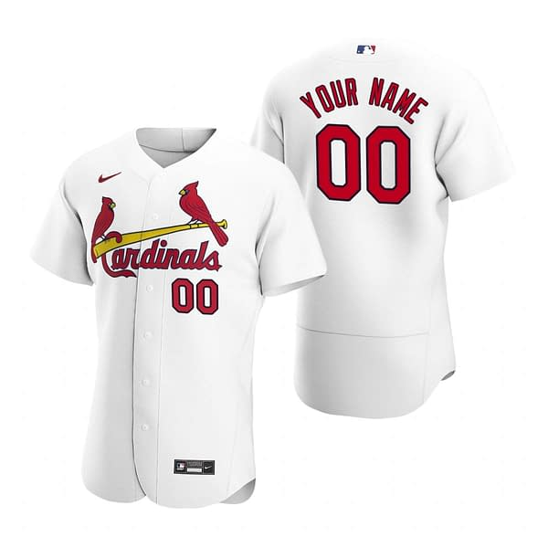 St. Louis Cardinals MLB Baseball Jersey For Men, Women, or Youth (Any Name and Number) color: 2018 Nickname|2019 Alternate Cream|2019 Alternate Red|2019 Nickname|2020 Alternate Cream|2020 Alternate Light Blue|2020 Alternate Red|2020 Home|2020 Road|Black V-Neck|2019 Home|2019 Road|Memorial Day  Refuse You Lose
