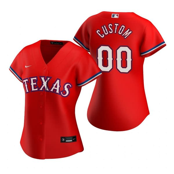 Texas Rangers Baseball Jersey For Men, Women, or Youth | Customizable brand: Refuse You Lose  Refuse You Lose
