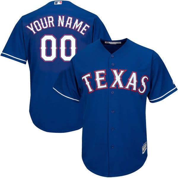 Texas Rangers MLB Baseball Jersey For Men, Women, or Youth (Any Name and Number) brand: Refuse You Lose  Refuse You Lose