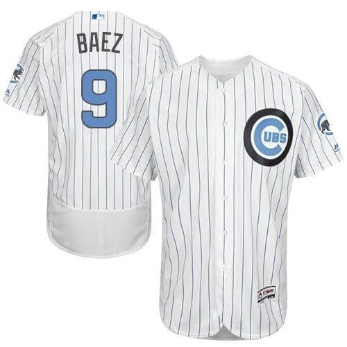 Javier Baez Chicago Cubs Home Father's Day MLB Baseball Jersey