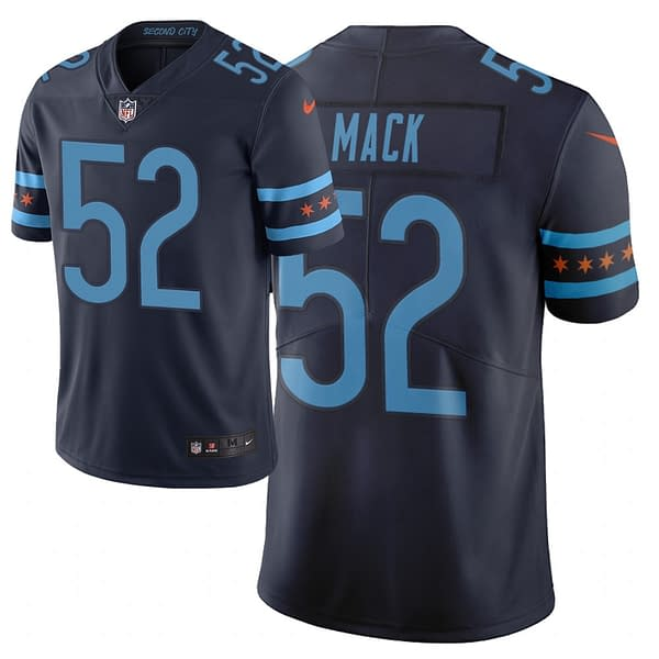 Chicago Bears City Edition NFL Football Jersey