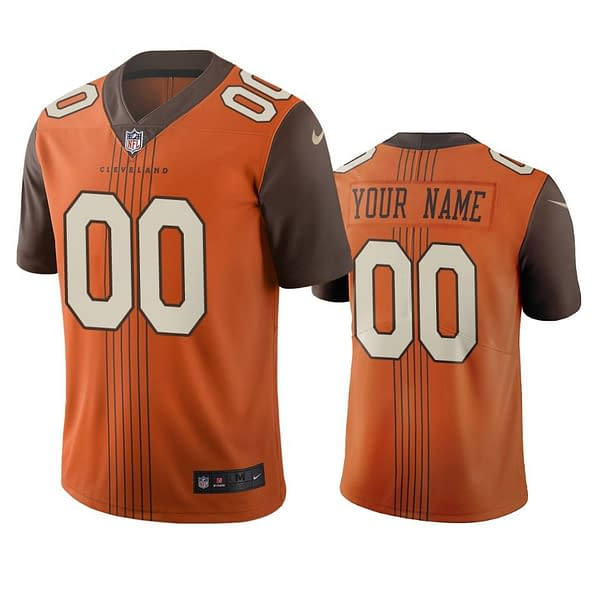 Cleveland Browns Jersey For Men, Women, or Youth   Customizable brand: Refuse You Lose  Refuse You Lose