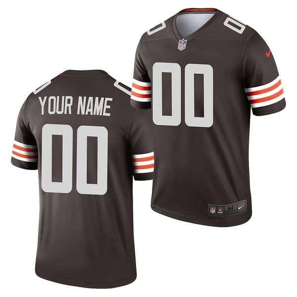 Cleveland Browns Home NFL Football Jersey