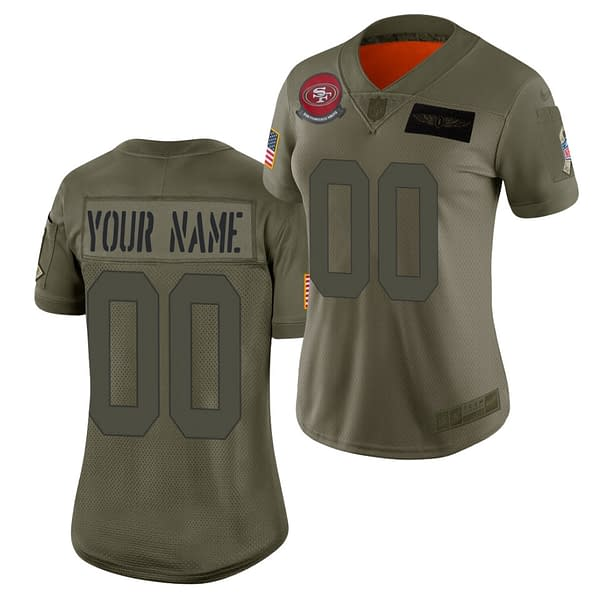 San Francisco 49ers Jersey For Men, Women, or Youth   Customizable brand: Refuse You Lose  Refuse You Lose