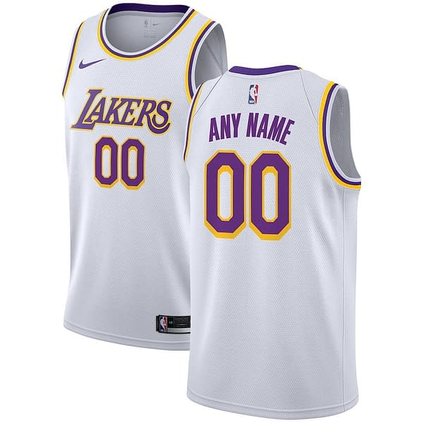 Los Angeles Lakers Home NBA Basketball Jersey