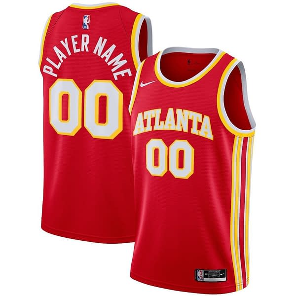 Atlanta Hawks Jersey For Men, Women, or Youth   Customizable color: Alternate Black City Edition Home Road  Refuse You Lose