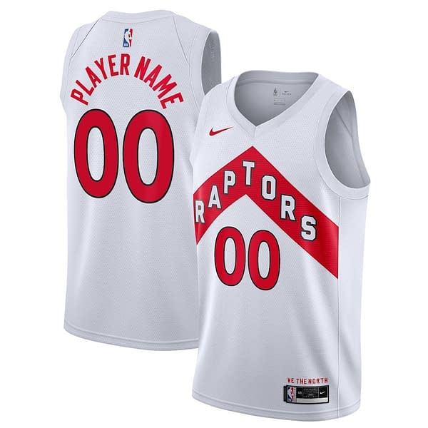 Toronto Raptors Jersey For Men, Women, or Youth   Customizable color: Hardwood Classic Black White Red  Refuse You Lose