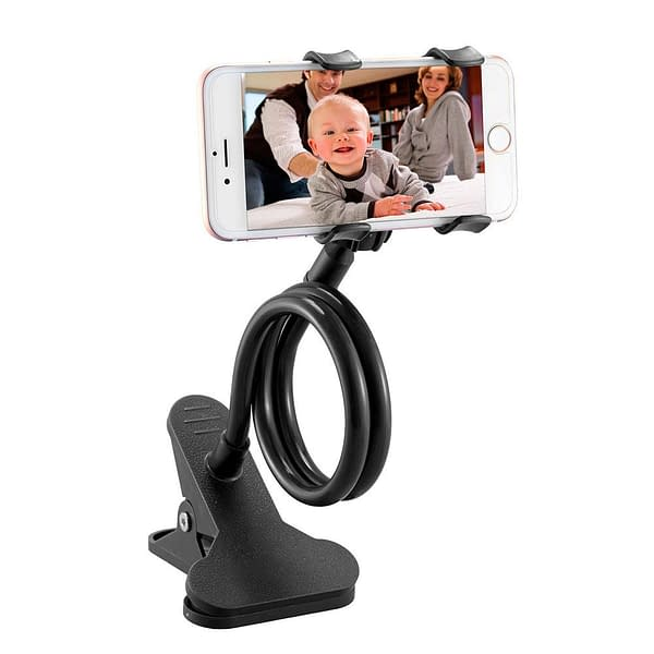 Long and Flexible Universal Cell Phone Holder Refuse You Lose Compatible Brand: Universal