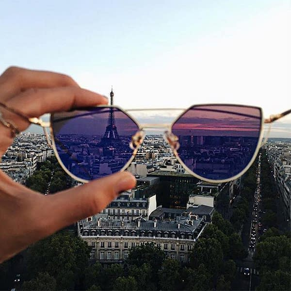 Luxury Cat Eye Sunglasses For Women lenses-color: A1|A10|A2|A3|A4|A5|A6|A7|A8|A9  Refuse You Lose