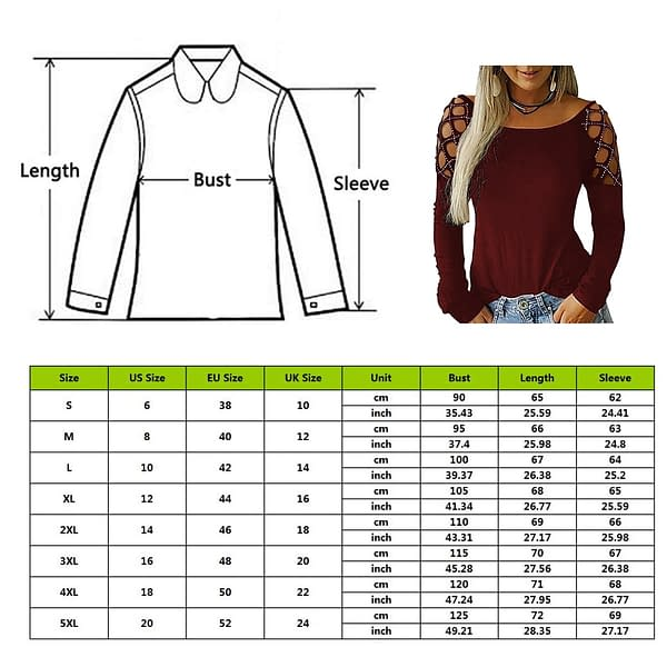 Long Sleeve Top For Women Refuse You Lose color: color 1 color 10 color 2 color 3 color 4 color 5 color 6 color 7 color 8 color 9