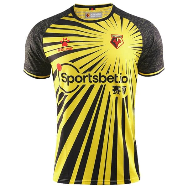 Watford FC 2020-2021 Home Soccer Jersey