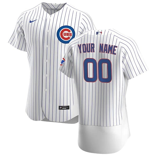 Chicago Cubs Baseball Jersey For Men, Women, or Youth   Customizable color: 2019 Nickname Black V-Neck Little League Classic Nickname 2021 City Connect 2020 Home 2020 Road 2020 Alternate 2018 Nickname 2019 Alternate 2019 Home 2019 Road Alternate Spring Training Home Father's Day Home Memorial Day Road Father's Day Road Memorial Day  Refuse You Lose