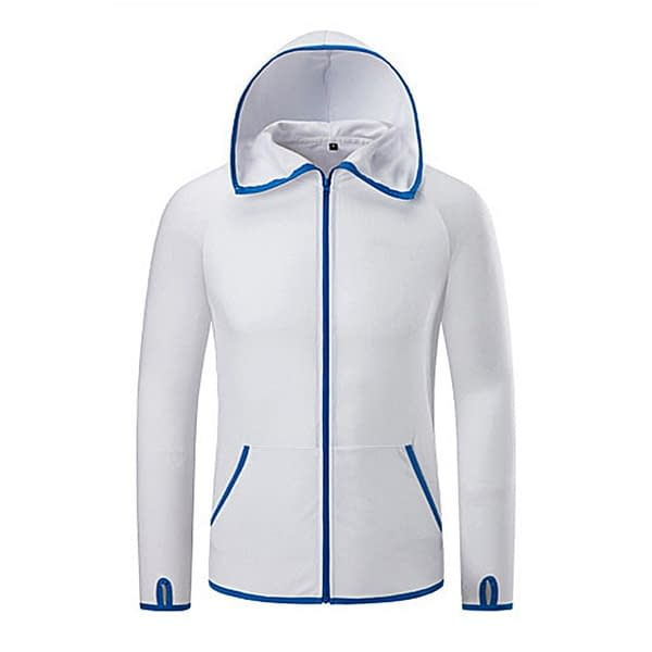 Unisex Hydrophobic Anti-Fouling Fishing Clothing Coat Waterproof Quick-Drying Outdoor Hunting Camping Hiking Hooded Jackets color: KH1265H KH1265L KH1265W  Refuse You Lose