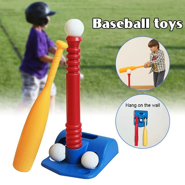 Adjustable Baseball Set For Kids color: as picture  Refuse You Lose