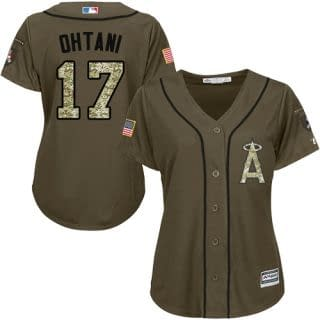 Shohei Ohtani Los Angeles Angels Salute to Service MLB Baseball Jersey - Refuse You Lose - RefuseYouLose.com