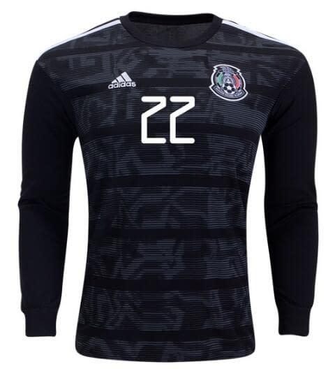 Mexico 2019-2020 Home Long Sleeve Soccer Jersey