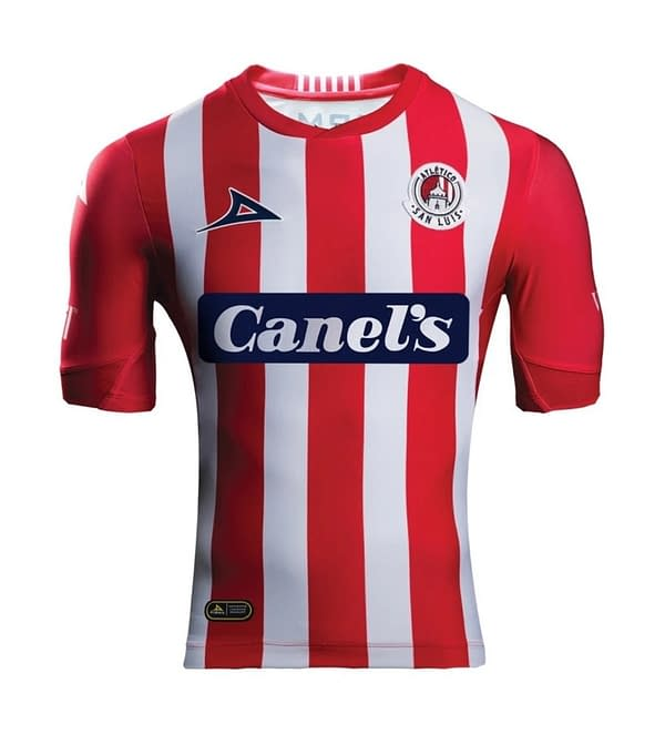 Atletico San Luis 2019-2020 Home Soccer Jersey
