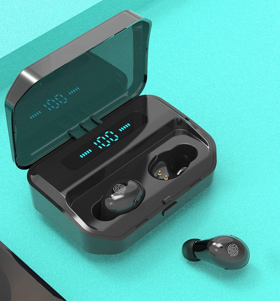 4200mAh TWS Bluetooth 5.0 Eaphones With Charging Case Wireless Earphone IPX7 Waterproof Earbuds Sport 9D Stereo Touch Control